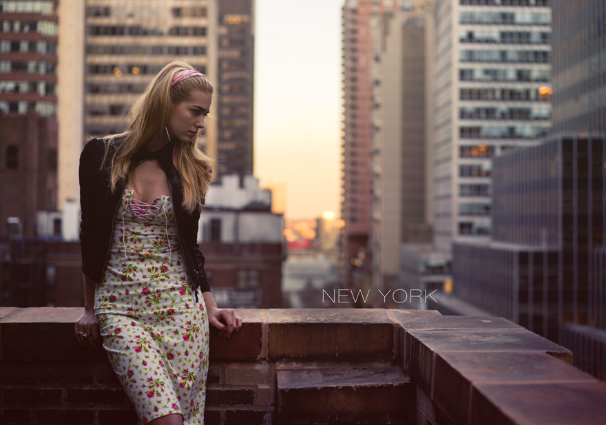 New York - From a recent fashion shoot I did in New York. We shot it in the amazing penthouse of The Roger Smith Hotel